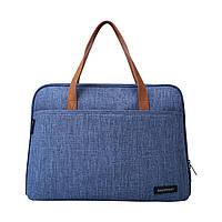 """Сумка для ноутбука 14"""" Bagsmart синяя (BM0140008A031)"""