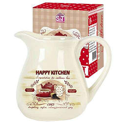 Кувшин 1 л Happy Kitchen Snt 2234-11