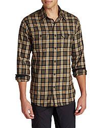 Рубашка Eddie Bauer Men Expedition Flannel Shirt S Коричневый (0667AGBS-S)