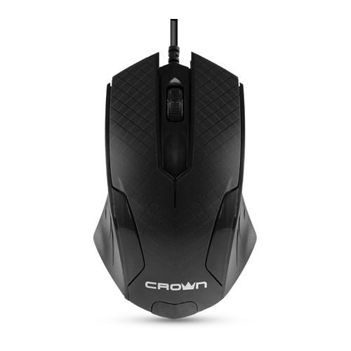 Мышь Crown CMM-100 USB Black