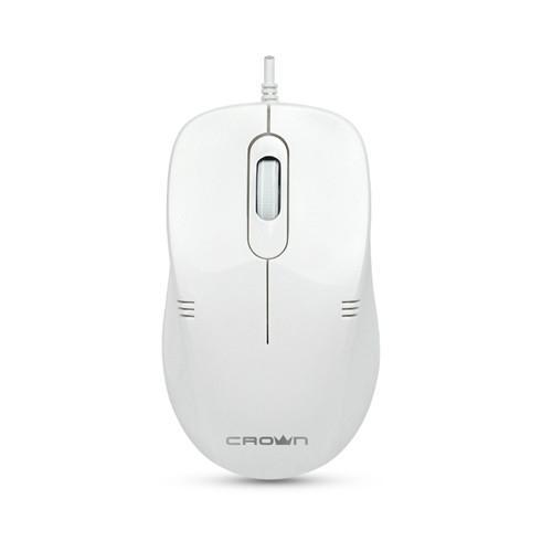 Мышь Crown CMM-502 USB White