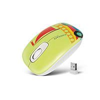 Мышь Crown CMM-923W WL USB Green