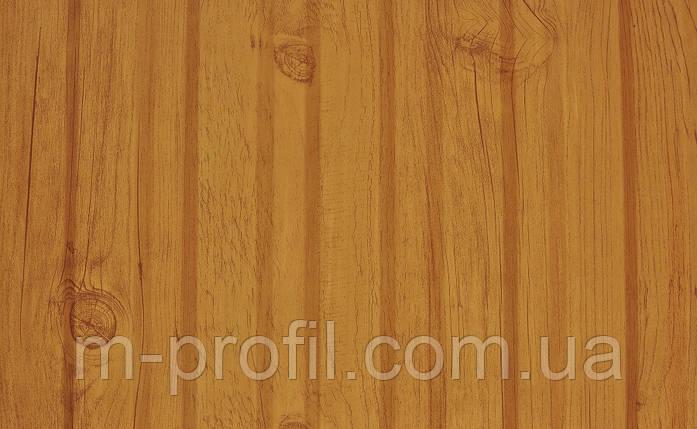 Профнастил ПС-20 дерево светлое 0,45, фото 2