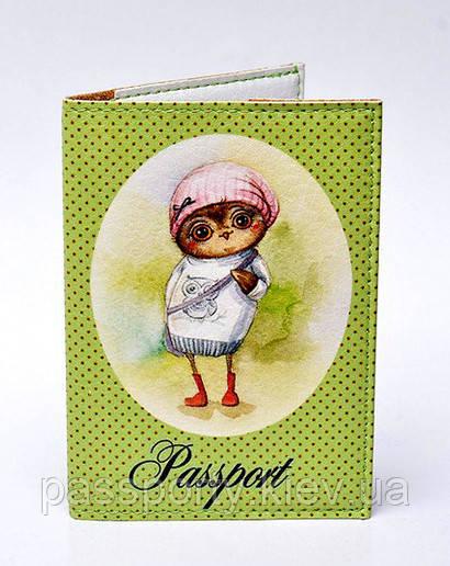 Прикольные  обложки на паспорт Совушки