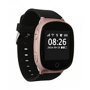 D100 (EW100s) розовое золото Партия 0102 Детские часы Smart Baby Watch (бумажная коробка)