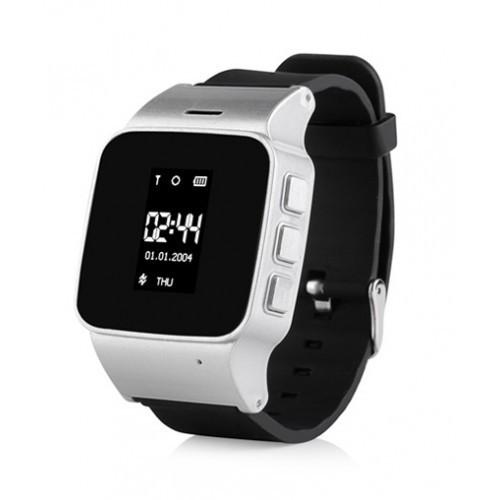 D99 (EW100) серебро Партия 0102 Детские часы Smart Baby Watch (бумажная коробка)