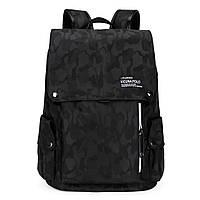 Мужской рюкзак Polo Vicuna черный (5522-BL)