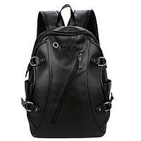 Мужской рюкзак Polo Vicuna черный (5511-BL)