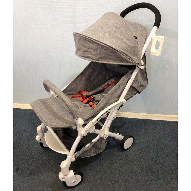 Детская коляска Yoya Care Wider коричневая
