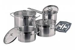 Набор посуды VINZER Universum Compact 9 пр. (89040)