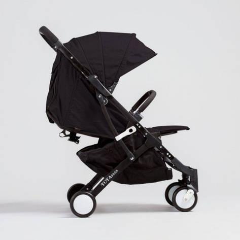 YOYA PLUS детская коляска ЧЁРНАЯ рама чёрная, фото 2