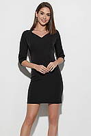 (S / 42-44) Класичне коротке чорне плаття Kaily