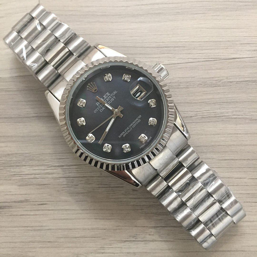 """Часы наручные мужские Rolex № 235-16 «Datejust» quartz (Ролекс № 235-16 """"Дэйтджаст"""" кварц)"""