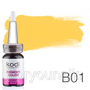 Пигмент для татуажа Kodi Professional B1 10 мл