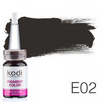 Пигмент для татуажа Kodi Professional E02 10 мл