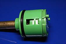 Картридж в смеситель для душевой кабины на четыре ( 4 ) положения 35 мм диаметром с длиной штока 37 мм., фото 2