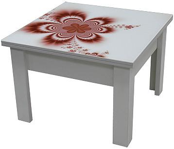 Стол трансформер (рисунок-УФ печати) (ассортимент цветов)