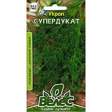 "Семена укропа урожайного ""Супердукат"" (4 г) от ТМ ""Велес"""