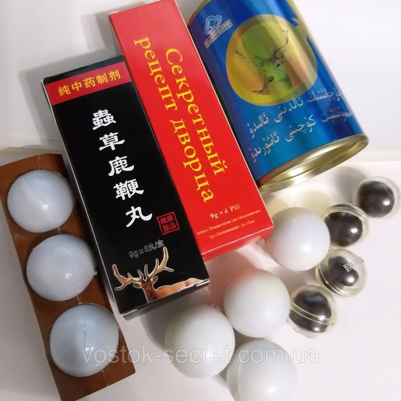 Традиционные китайские пилюли - шарики.