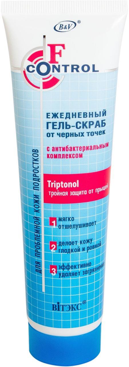 ГЕЛЬ-скраб от черных точек с антибактериальным комплексом для подростков