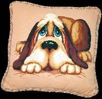 Набор для вышивки «Подушка Пес»