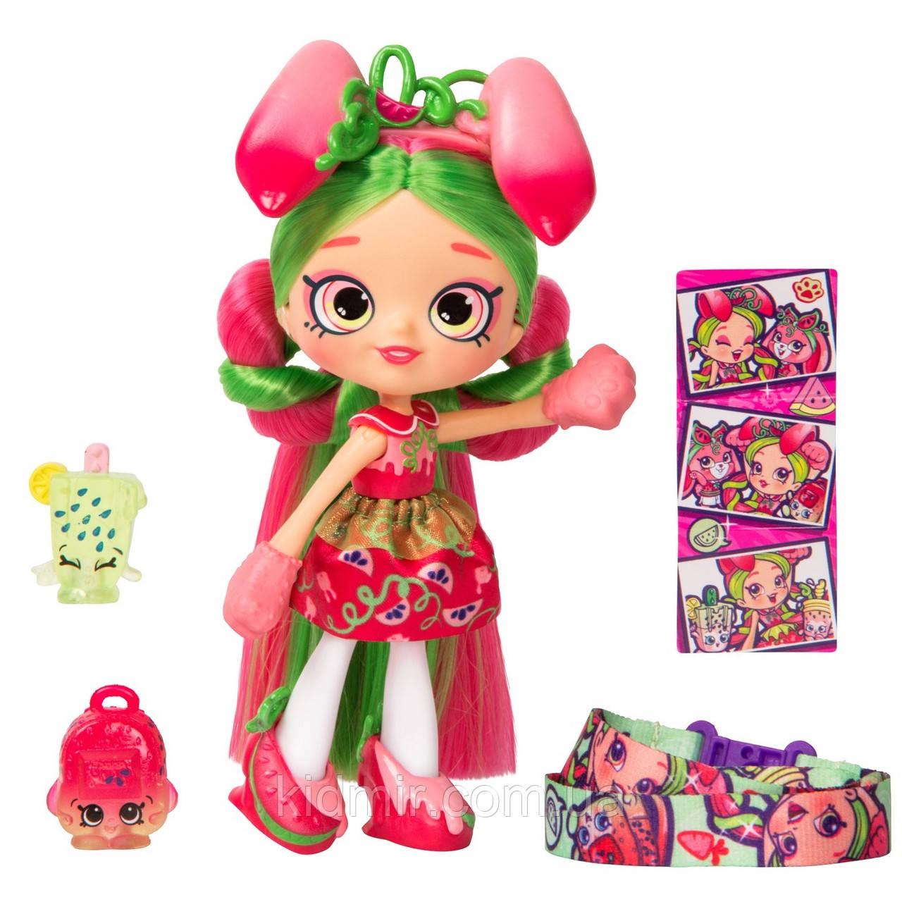 Кукла Шопкинс Арбузинка Пиппа Дикий стиль Shopkins Shoppies Pippa Melon