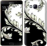 "Чехол на Samsung Galaxy A8 A8000 White and black 1 ""2805u-135-19631"""