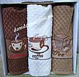 """Махровые кухонные полотенца """"Cappucino"""" 40*60 см Vianna 3 шт., Турция , фото 4"""