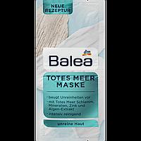 Маска для лица Totes Meer - Мертвое море с грязью Мёртвого моря, Balea, 2 х 8ml, 16ml