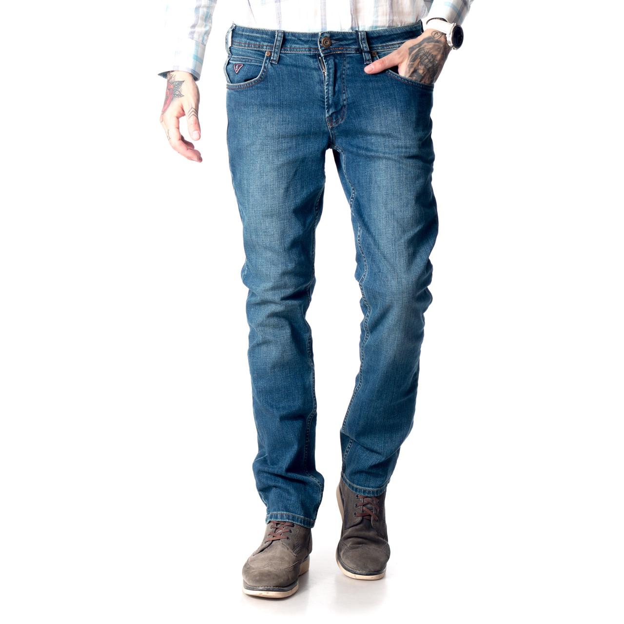 Мужские джинсы Franco Benussi 17-376 TORINO темно- синие