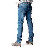 Мужские джинсы Franco Benussi 17-376 TORINO темно- синие, фото 2