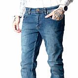 Мужские джинсы Franco Benussi 17-376 TORINO темно- синие, фото 3