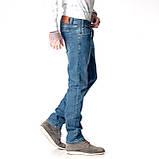Мужские джинсы Franco Benussi 17-376 TORINO темно- синие, фото 4