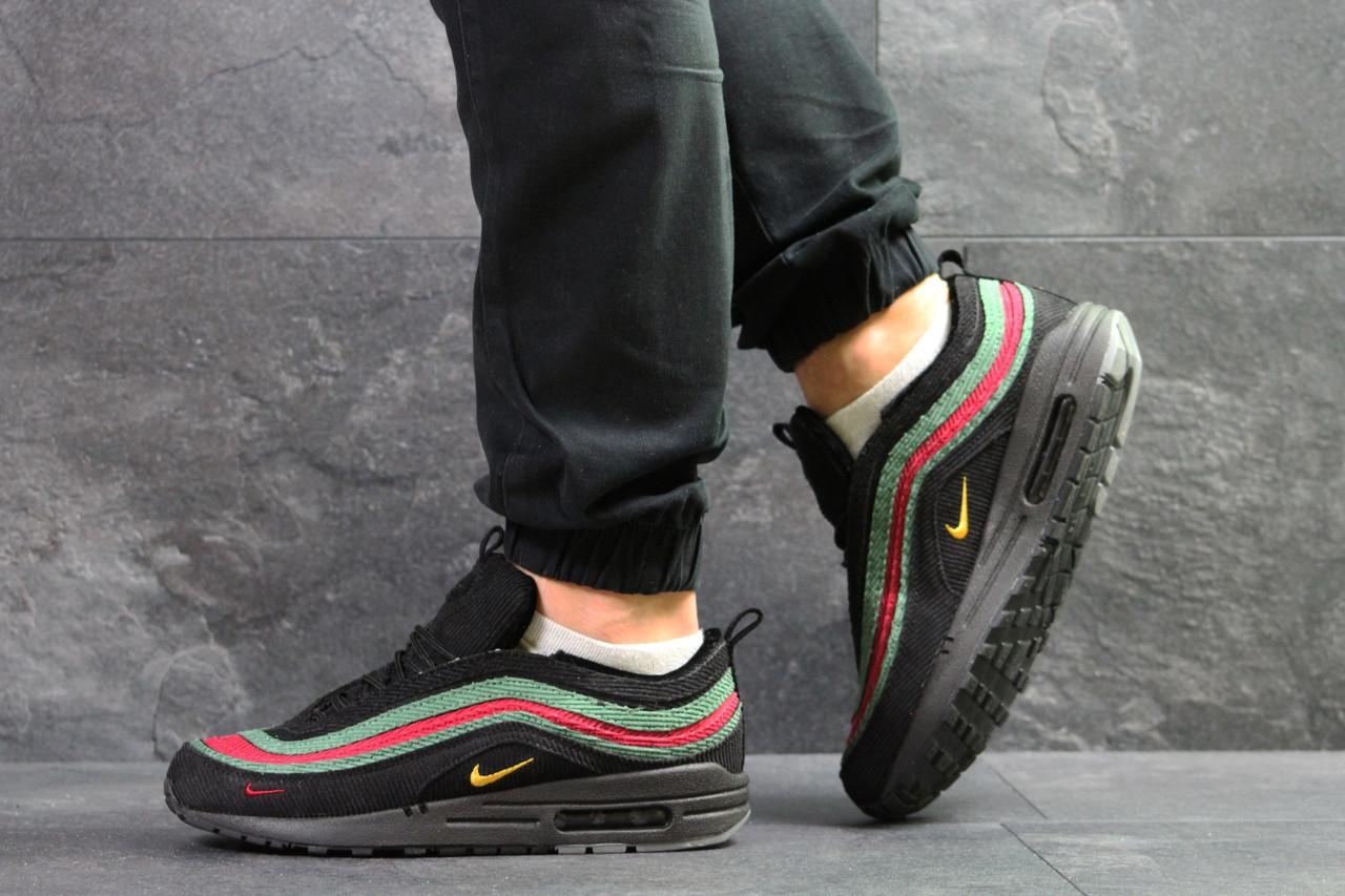 98f4c6ea3 Мужские текстильные кроссовки Nike Air Max 1/97 Vf Sw, черные, цена ...