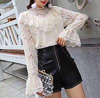 Блузки женские сетка оптом (42-46 универсальный) Китай, от 2 шт.