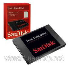 "Накопитель SSD SanDisk 128GB 2.5"" SATAIII MLC (SDSSDP-128G-G25) Розничная коробка"