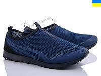 Кроссовки мужские Lvovbaza Progress 3301 синий (40-45) - купить оптом на 7км в одессе