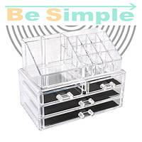 Акриловый органайзер для косметики Cosmetic Box
