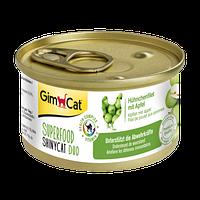 Консвервированный корм GimCat Superfood ShinyCat Duo для кошек с курицей и яблоком, 70 г