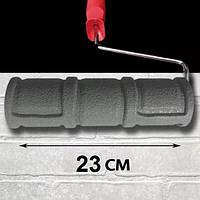 Валик структурный под кирпич В022