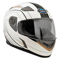 Шлем GEON 952 Интеграл AIR белый-золото