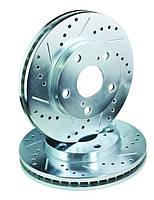 Тормозные диски (Пара)  зад Mazda CX-7 CX-9