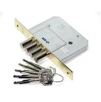 Механизм дверей врезной KALE 189 4MF 5 ключей 4 ригеля Никель