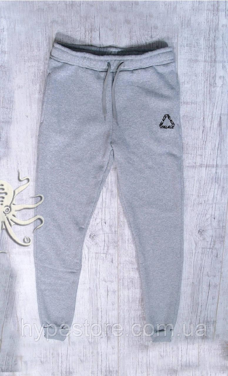 Мужские спортивные весенние штаны, чоловічі штани Palace (серый), Реплика