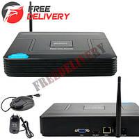 Видеорегистратор NVR TVPSii S6216NVR Wi-Fi для IP камер, 16 каналов 5МП