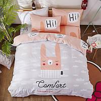 Комплект постельного белья Кролик (двуспальный-евро) Berni