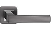 Ручка на розетке TRION LIBERA AL MBN/CP  квадрат
