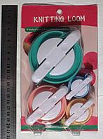 Устройство для изготовления помпонов (Knitting loom), 4 размера