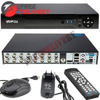 Видеорегистратор HVR NVR DVR TVPSii 6016T-LM, AHD-H 1080N, 16 каналов