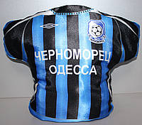 Подушка сувенирная в виде футболки ФК Черноморец